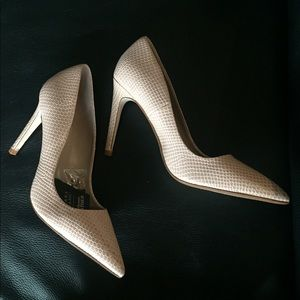 Zara nude heels - New With Tags - Size 39